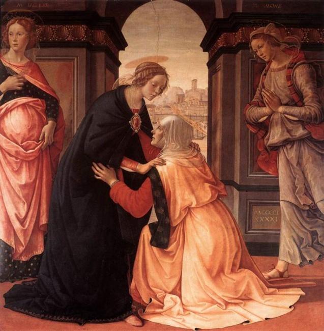 Ghirlandaio, Visitation 1491.jpg